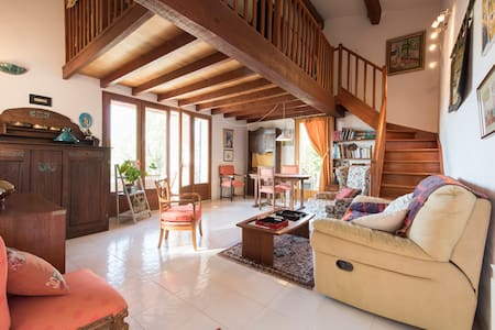 Bed & Breakfast (2 rooms) in large villa - Le Tignet