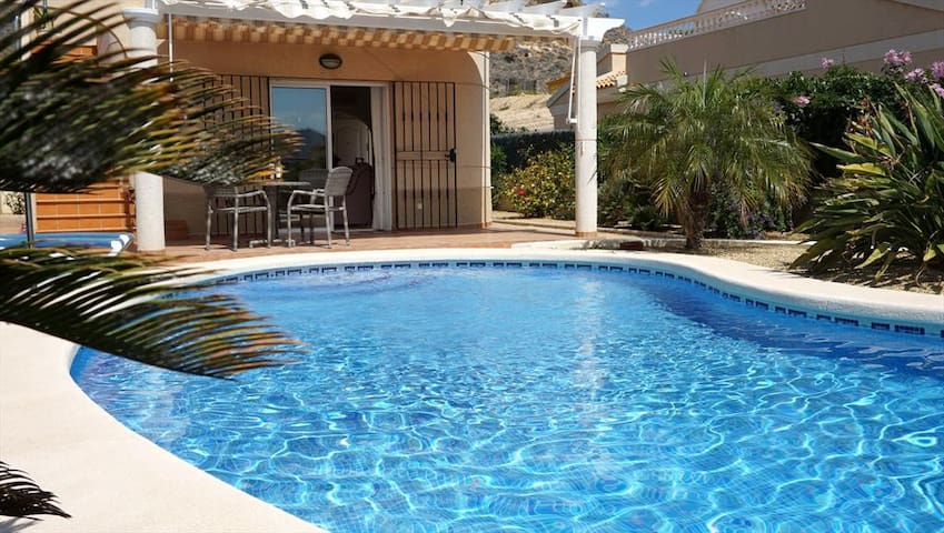 Relaxing 2 bedroom villa with private pool.