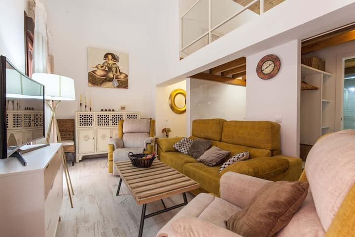 Loft / Duplex with charming historic center. WIFI