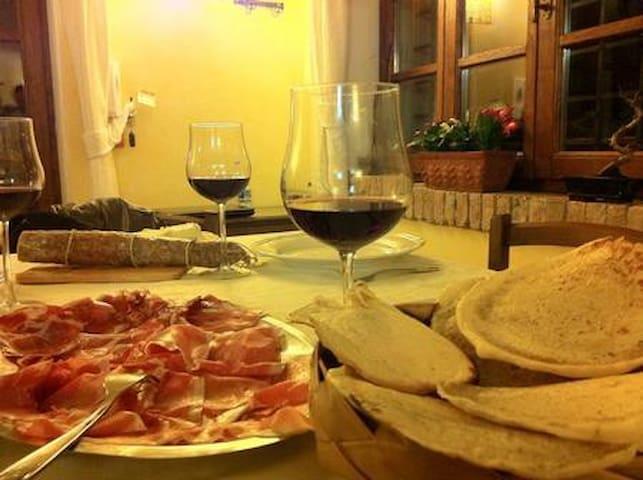 Panigacci piatto tipico di Podenzana