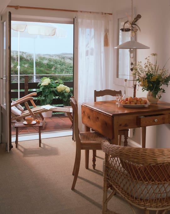 Charmante sylt wohnung in rantum apartments for rent in for Design wohnung sylt