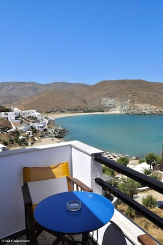 Rooms with sea view in Tinos. - Kolimpithra - Bed & Breakfast