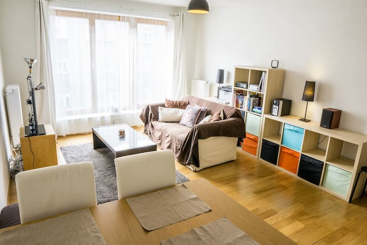 Spacious apartment in a modern vibrant area