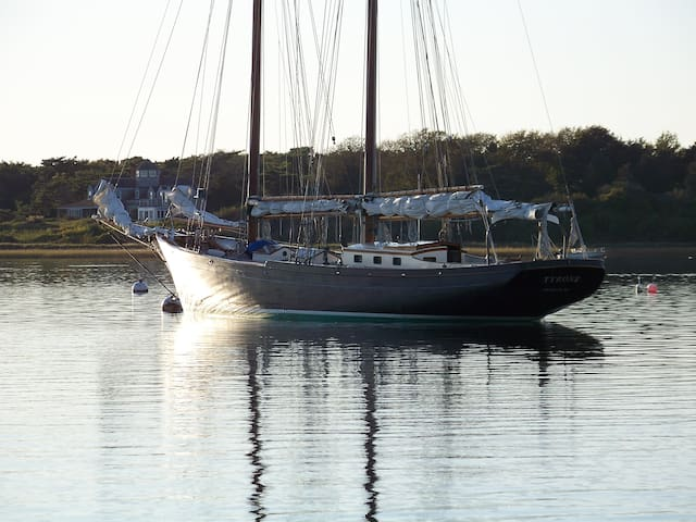 Tyrone, a vintage schooner  - Chatham - Barco