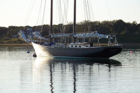 Tyrone, a vintage schooner  - Chatham - Boot