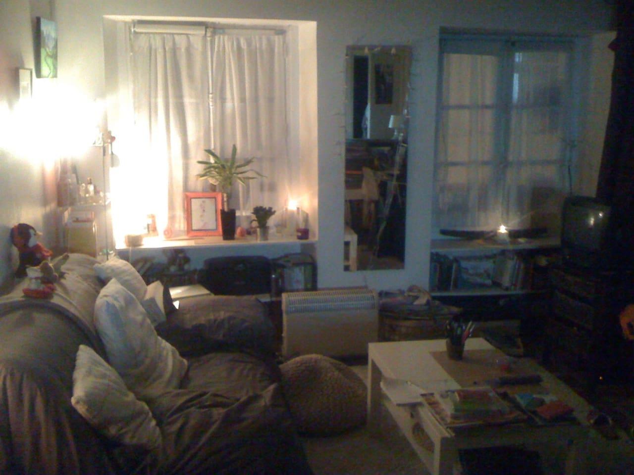 Main room by night