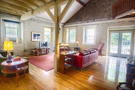 Loft Apt 19th C Wireworks Factory - Jim Thorpe