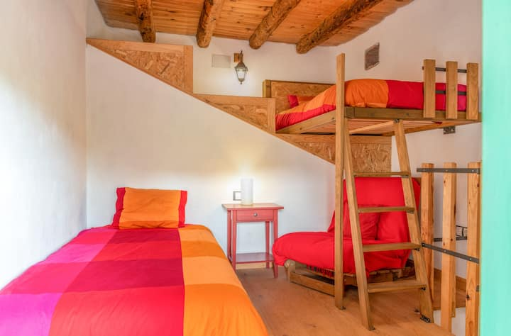 Farmhouse Hotel with Biodynamic Farm (Red Room)