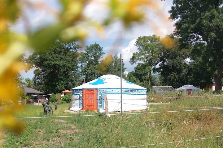 original mongolische Jurte