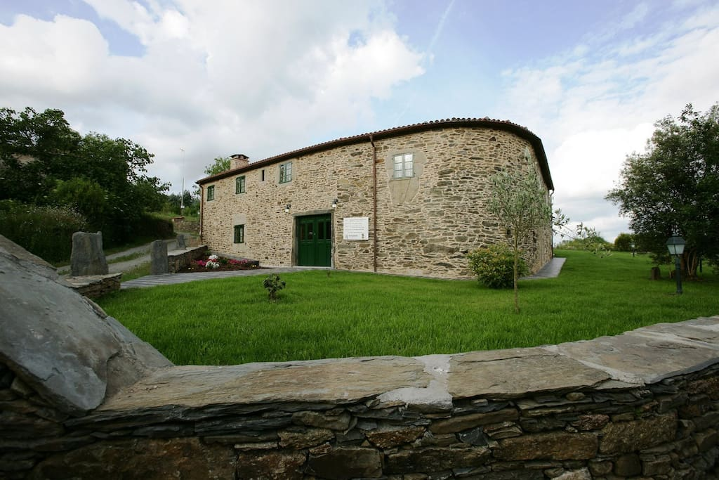 Exterior y jardín Casa da Igrexa
