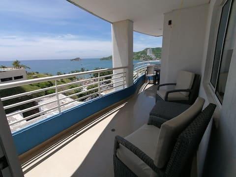 Oceanview  apartament pocos pasos al mar