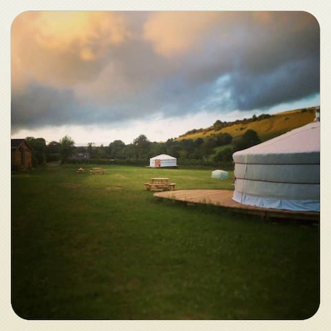 Green Valley Yurts, Dorchester - Dorchester - Khemah Yurt