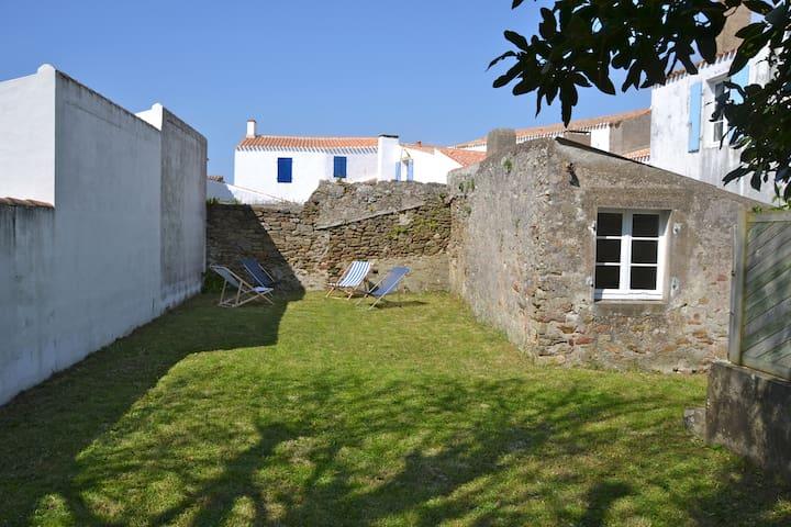 Maison de charme à Saint Sauveur - Ile d'Yeu - Dům