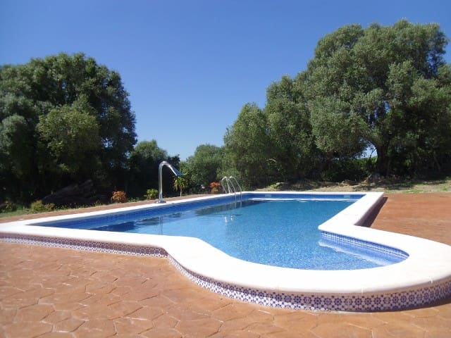 Private Rural Finca with Pool near Ocean, Vejer.