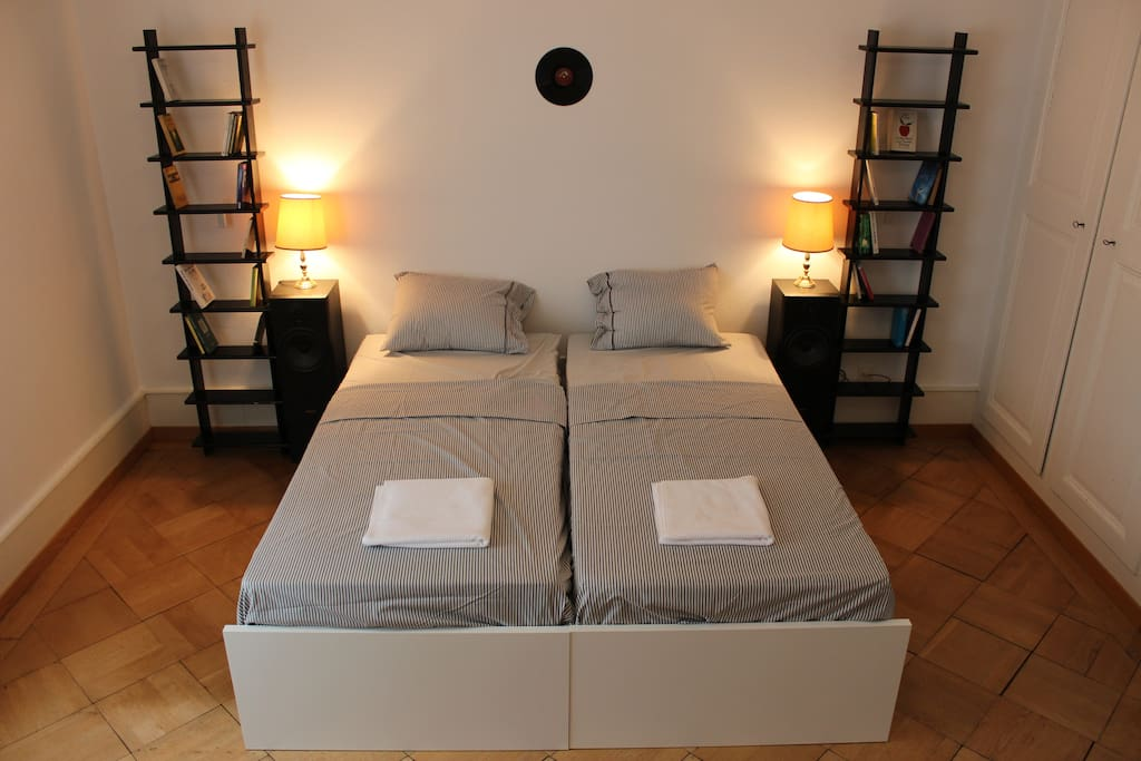 25 m2 Guestroom with twin beds or one king size bed