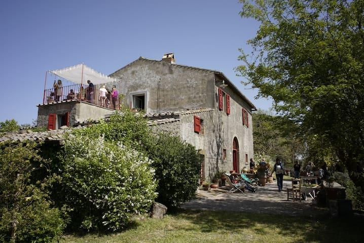 """La Mentuccia"" Country House - Montefiascone - Hus"