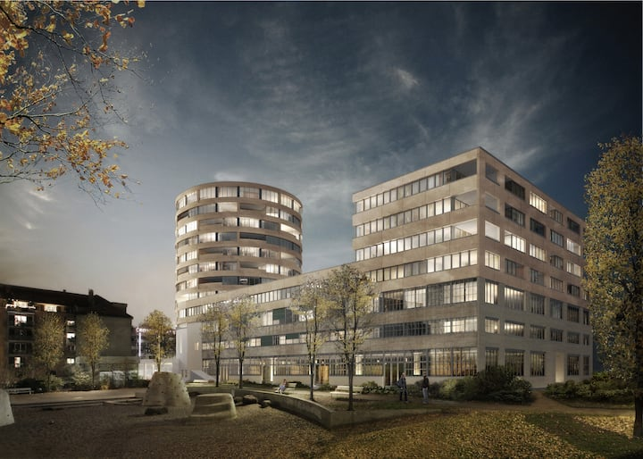 120 sqM - 3 bedrooms + lounge in central Zurich