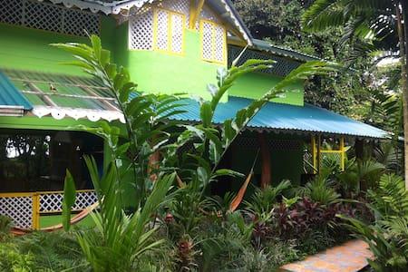 Casa Caribeña, fte mar puerto viejo - Puerto Viejo - Huis