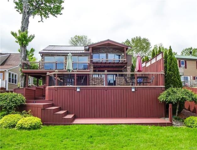 Exquisite House on Oneida Lake