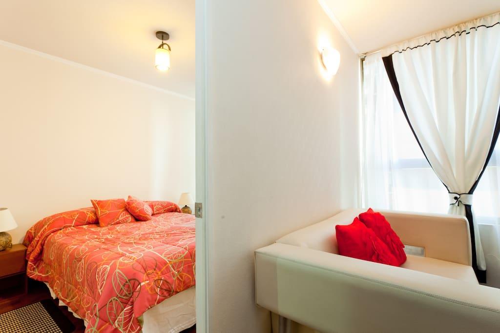 Amplio Dormitorio /Spacious master bedroom