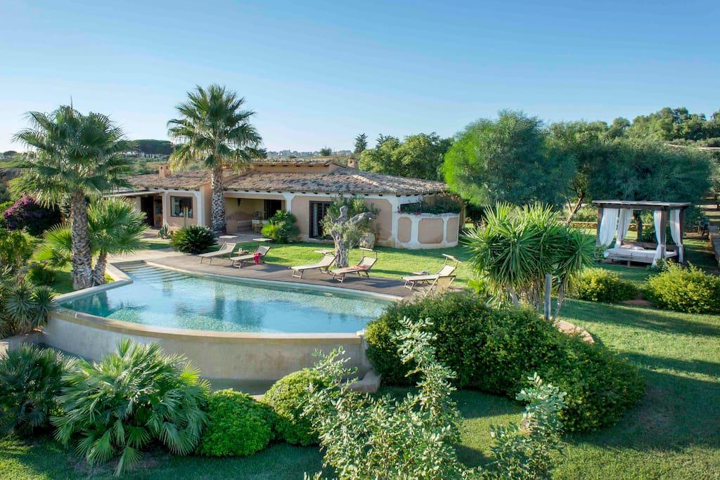 Villa di lusso con piscina sicilia ville in affitto a - Villa con piscina sicilia ...