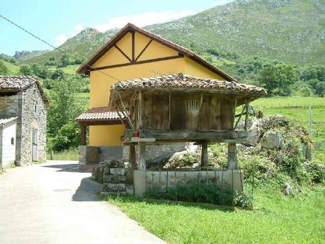 CASA ENTRE MONTAÑAS CERCA DE LA PLAYA - Asturias - Naturstuga
