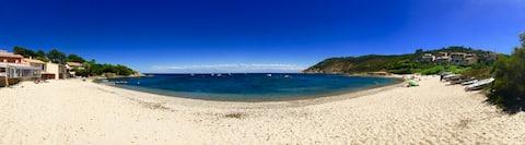 Saint Tropez, vue mer, Plage de Pampelonne