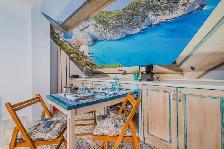 Blue Riviera - Stylish, Central Maisonette, Zaimov