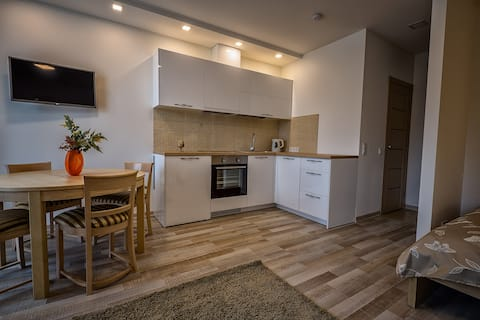 Family apartment B 34 m2 with parking