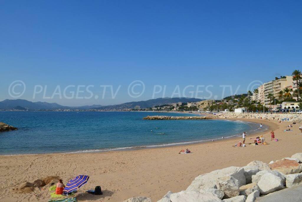 les plages du midi à proximité