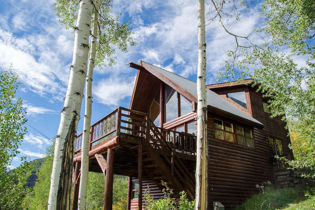 classic colorado cabin near aspen cabins for rent in