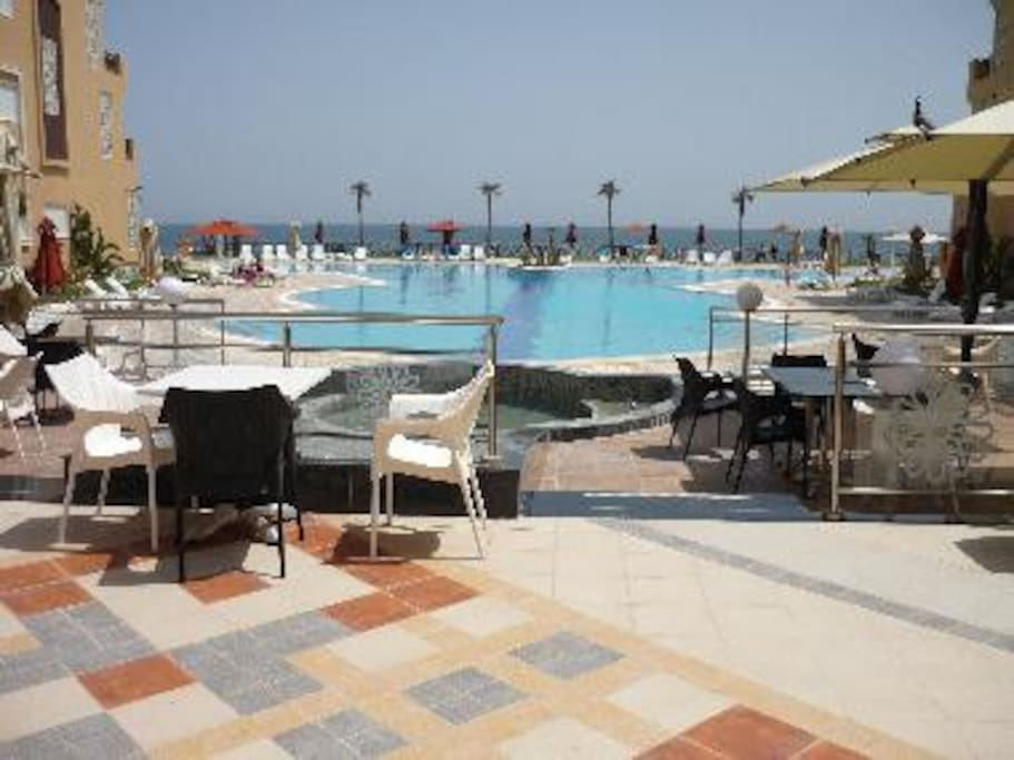 R sidence folla aqua ressort 5 etoiles appartements for Salon 5 etoiles tunisie