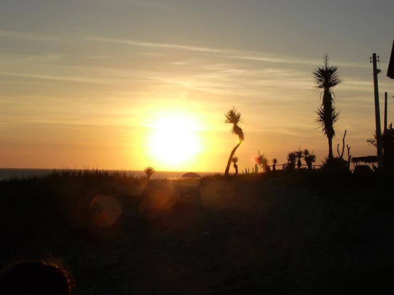 O por do sol mais lindo do mundo