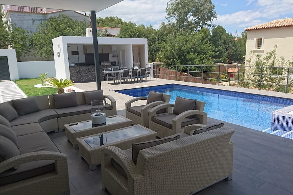 Zone terrasse piscine