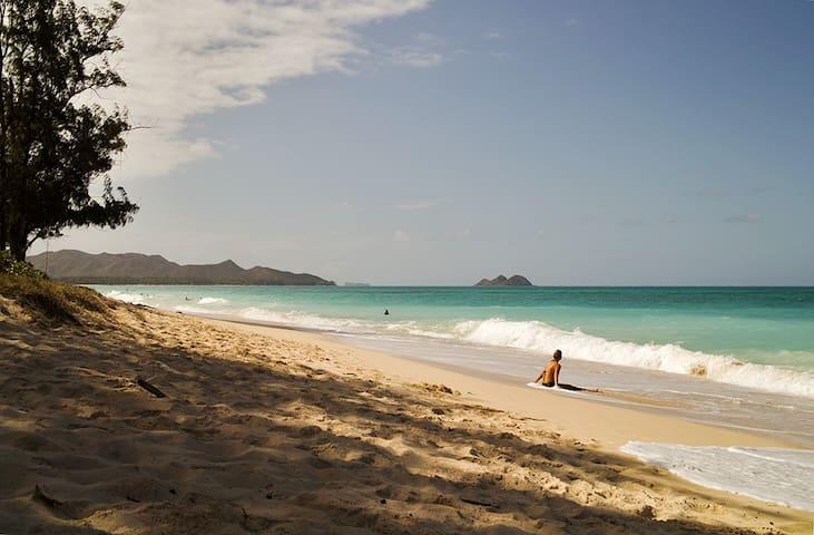 Paradise Found Waimanalo - Private Beachside Suite