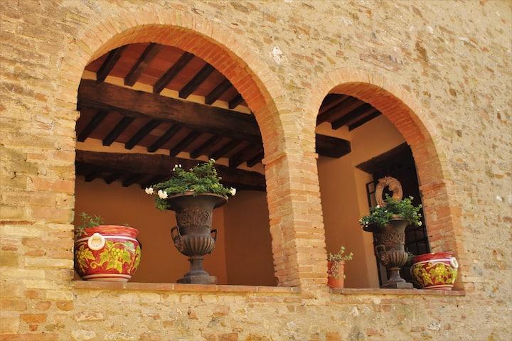 La Macina San Gimignano View Apartment