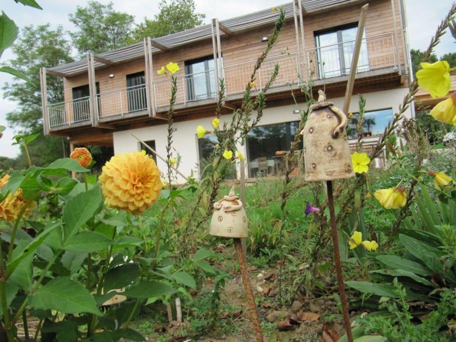 Maison écologique passive à ossature bois