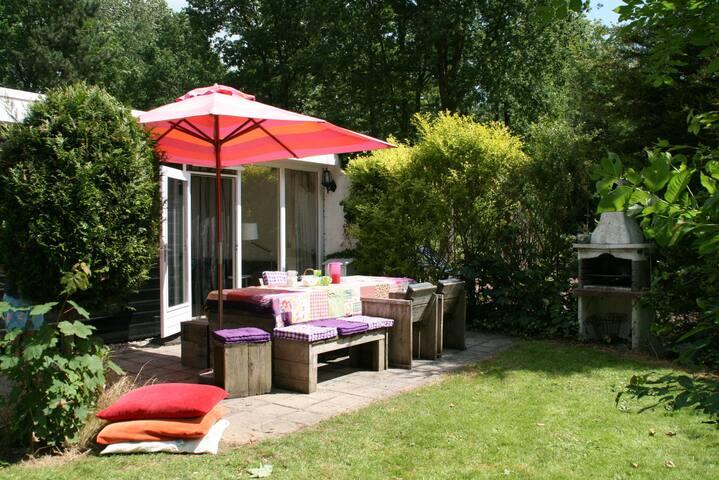Geweldig Vakantiehuis nabij Veluwemeer - Biddinghuizen - Srub