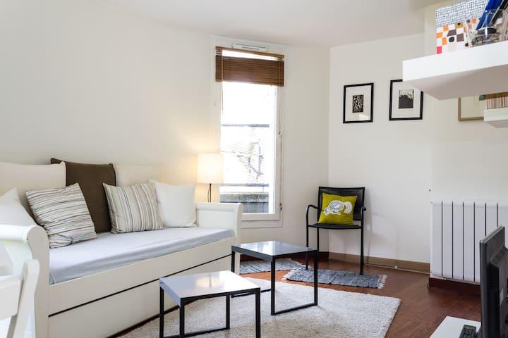 Studio avec terrasse privative - Grenoble - Apartment