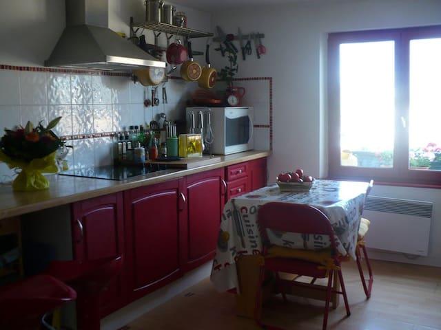 F2/F3 meublé - Presqu'île du Pollet - Dieppe - Wohnung