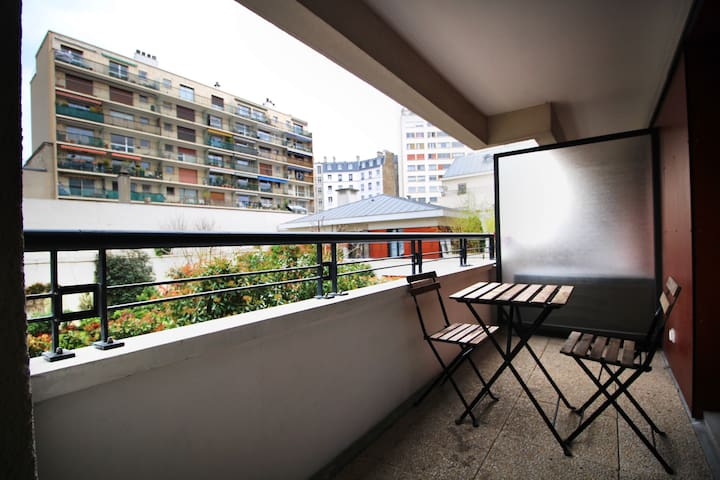 QUIET APT WITH BALCONY - ALÉSIA - Paris