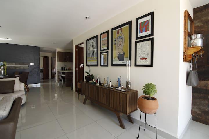 Bonito y cómodo departamento en San Luis Potosí