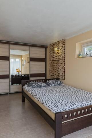 Sypialnia Apartament Żeglarski