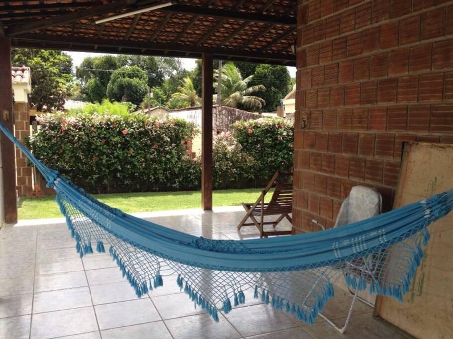 Área de lazer / relaxation area.