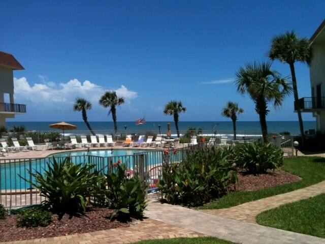 Condo on the Ocean - Bent Palm - Ormond Beach - Apartemen