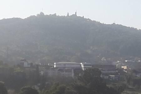 Vista magnifica sobre a cidade Ao lado da U.M