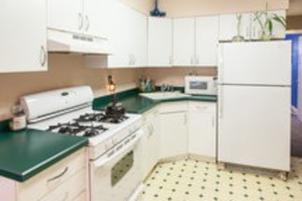 Full well appointed kitchen for your use