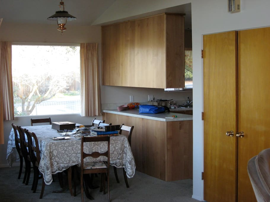 Dining room area, seats 8.