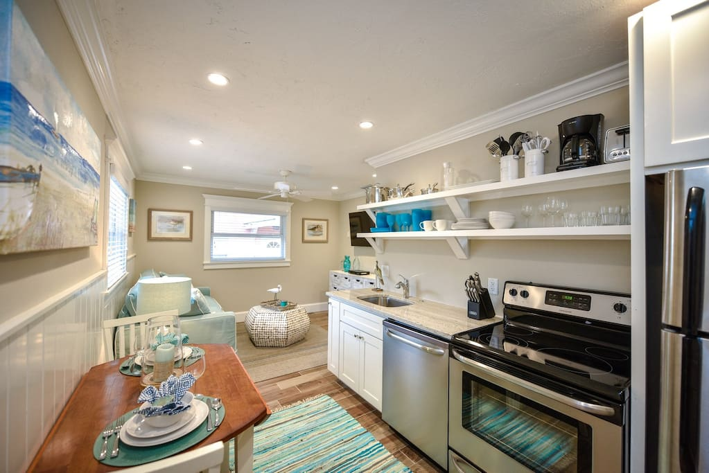Example - Kitchen to Living Room Area