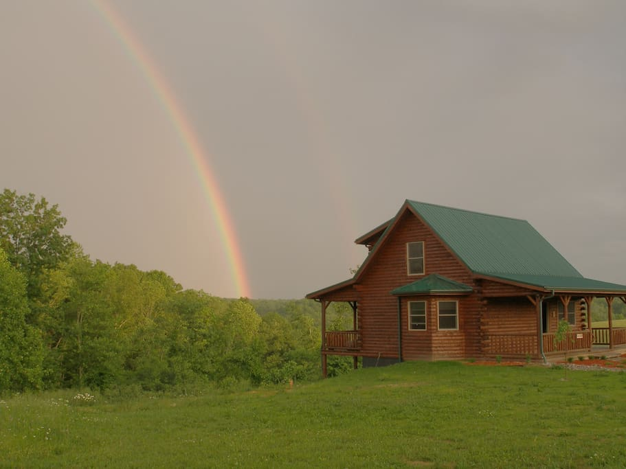 Beautiful Log Cabin On The Mountain Cabins For Rent In